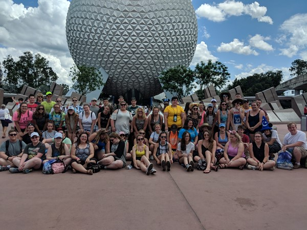 Band and Choir Visit Disney