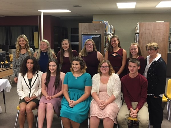 Inductees 2016-17 Spanish Society