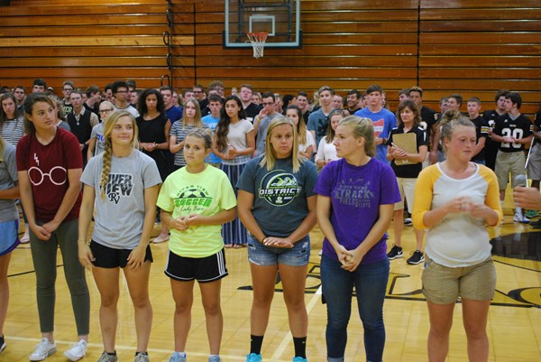 Fall Sports Pep Rally 2017-2018